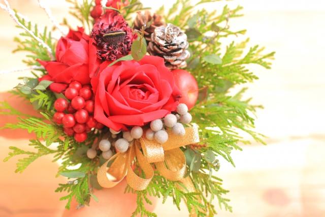 エステ 経営 お花を飾る